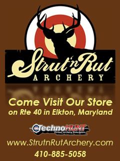 Strut-n-Rut Archery Banner